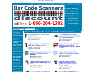 barcodescannersdiscount.com screenshot
