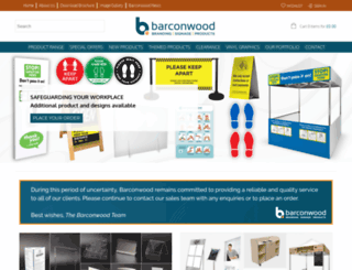 barconwood.co.uk screenshot