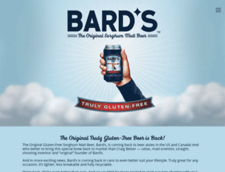 bardsbeer.com screenshot