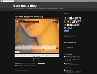 barebeats.blogspot.com screenshot