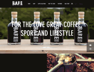 barecoffee.com screenshot