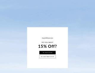 bareescentuals.com screenshot