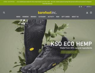 barefootinc.com.au screenshot