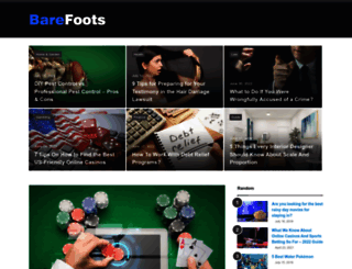 barefootsworld.net screenshot