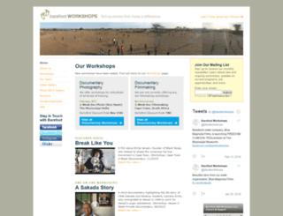 barefootworkshops.org screenshot