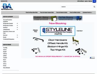 barefrigeration.com screenshot