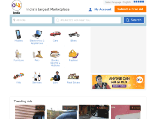 bareilly-uttarpradesh.olx.in screenshot