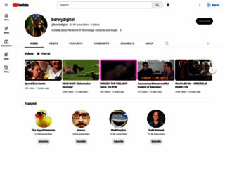 barelydigital.com screenshot