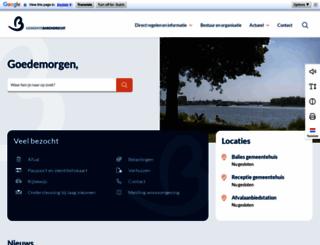barendrecht.nl screenshot