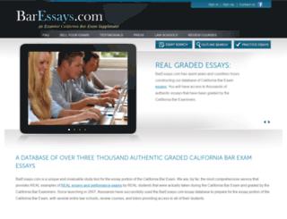 baressays.com screenshot