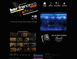 barfrancesca.it screenshot