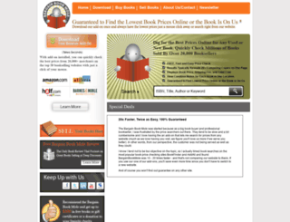 bargainbookmole.com screenshot