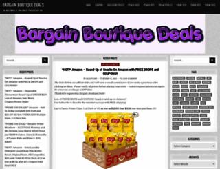 bargainboutiquedeals.com screenshot