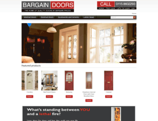 bargaindoors.net screenshot