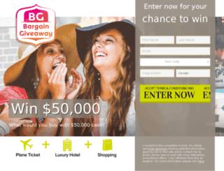 bargaingiveaway.com screenshot