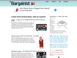 bargainist.com screenshot