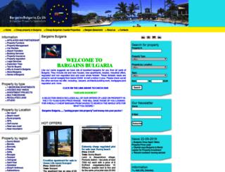 bargainsbulgaria.co.uk screenshot