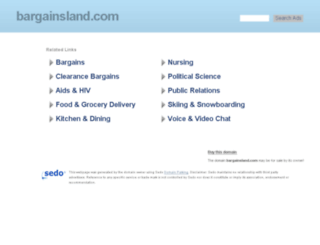 bargainsland.com screenshot