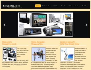 bargaintec.co.uk screenshot