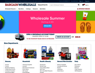 bargainw.com screenshot