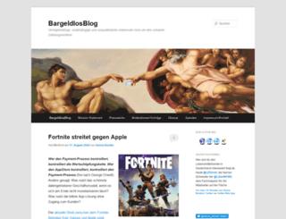 bargeldlosblog.de screenshot