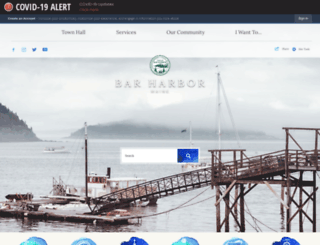 barharbormaine.gov screenshot