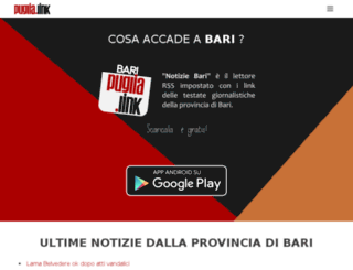 bari.puglia.link screenshot