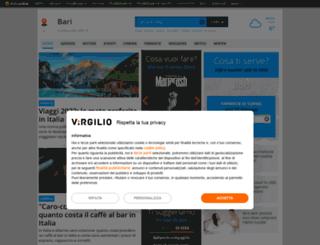 bari.virgilio.it screenshot