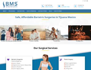 bariatricmexicosurgery.com screenshot