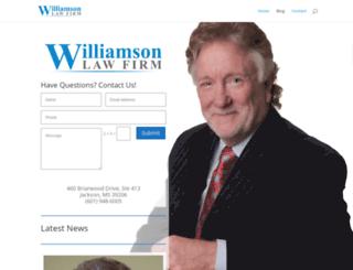 bariawilliamson.com screenshot
