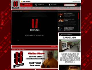 baricada.ro screenshot