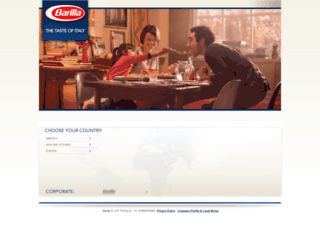 barillaaus.com screenshot