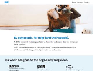 barkcare.com screenshot