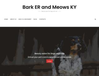 barkerandmeowsky.com screenshot