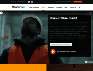 barkerblue.com screenshot