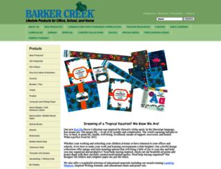 barkercreek.shptron.com screenshot