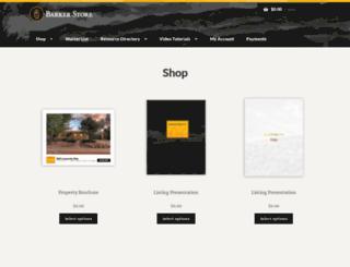 barkerintranet.com screenshot