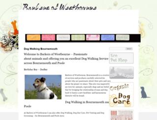 barkersofwestbourne.com screenshot