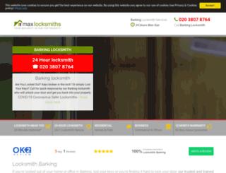 barking-locksmith.co.uk screenshot