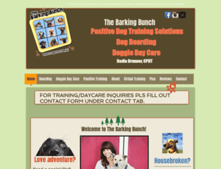 barkingbunch.com screenshot