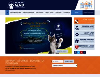 barkingmad.co.za screenshot