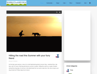 barkleyandpaws.com screenshot