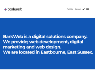 barkweb.co.uk screenshot
