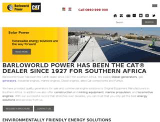 barloworldpower.com screenshot