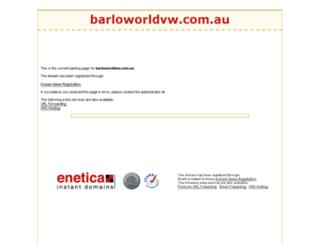 barloworldvw.com.au screenshot