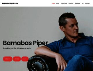 barnabaspiper.com screenshot