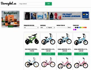 barncykel.se screenshot