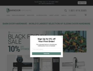 barndoorshardware.com screenshot