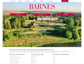 barnes-chateaux.com screenshot