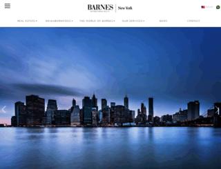 barnes-newyork.com screenshot